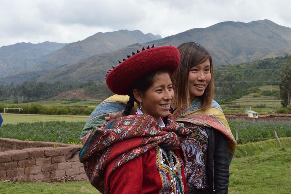 Andes cultuur project Peru
